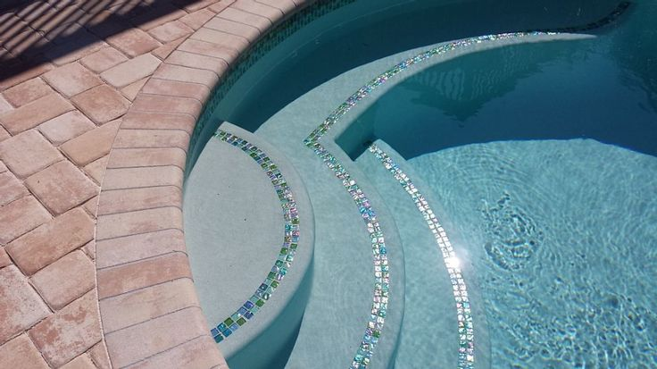 Pool mosaic tile designs