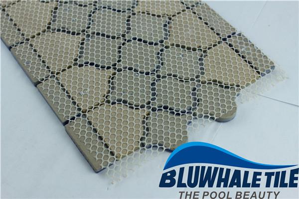边界蓝色蔓藤花纹bczb011, 马赛克瓷砖,陶瓷马赛克,在