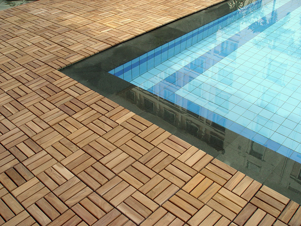 Decorate Semi Inground Pool With Wraparound Deck Slip