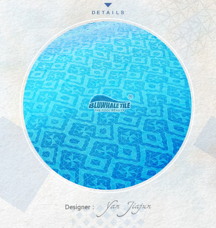 Santorini Wheel Trg Sa Wh Pool Tile Triangle Tile
