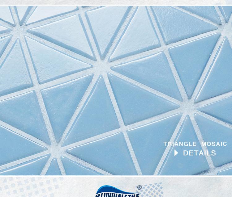 Santorini Pure Color Trg Sa P1 Pool Tile Triangle Tile
