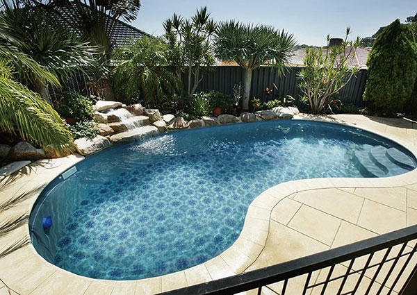 6 awesome backyard pool design ideas for 2018 pool for Pool design 2018