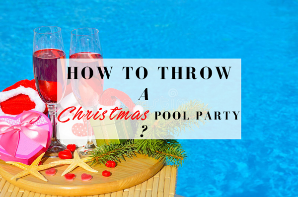 christmas pool partyjpg - Christmas Pool Decorations