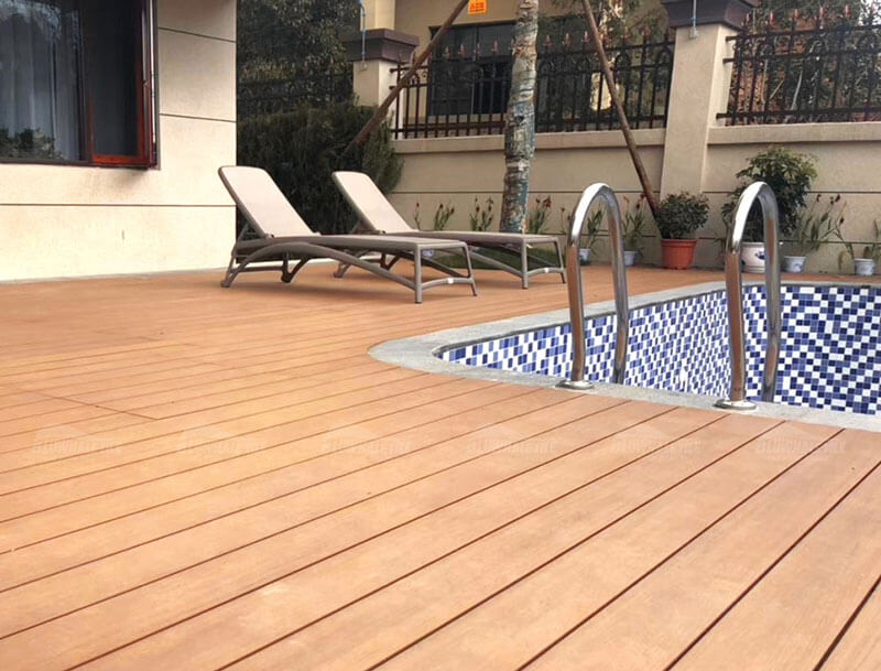 3 Types Wood Plastic Composite Create Perfect Pool Decking Areas Pool Deck Tile Ideas Wood Plastic Composite Tiles Wood Plastic Composite Supplier Bluwhale Tile