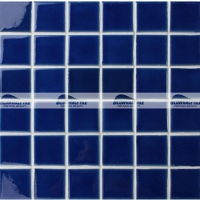 Frozen Blue Crackle BCK658-Pool tiles, Ceramic mosaic tiles, Pool mosaic tiles
