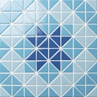Triangle BCZ017-Triangle mosaic, Triangle mosaic tile, Triangle mosaic pieces, Pool mosaic tiles