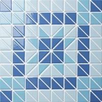 Triangle BCZ020-Triangle mosaic, Triangle mosaic tile, Triangle mosaic pieces, Pool mosaic tiles