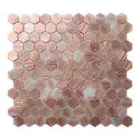 Hex BGZ032-Hexagon Mosaic, Hexagon Tile, Kitchen Hexagon Mosaic