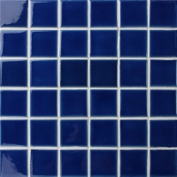 Frozen Blue Crackle BCK655-Pool tiles, Cracked ceramic mosaic tile, Pool mosaic designs