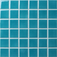 Frozen Blue Crackle BCK701-Pool tiles, Pool mosaic, Ceramic mosaic tile, Outdoor ceramic mosaic