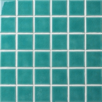 Frozen Green Crackle BCK711-Pool tile, Pool mosaic, Ceramic mosaic, Ceramic mosaic factory