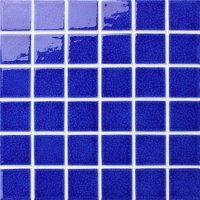 Frozen Blue Crackle BCK657-Pool Mosaic, Ceramic mosaic, Glazed ceramic mosaic tile