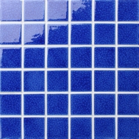 Frozen Blue Crackle BCK659-Pool mosaic, Ceramic mosaic, Mosaic ceramic shower tile