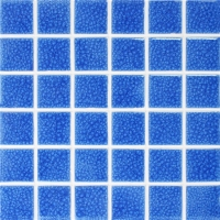 Frozen Blue Heavy Crackle BCK661-Pool tile, Pool mosaics, Ceramic mosaic tile, Glazed ceramic pool tile