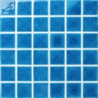 Frozen Blue Heavy Crackle BCK662-Pool tiles, Pool mosaics, Ceramic mosaic tile, Pool ceramic tile design