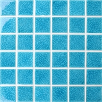 Frozen Blue Crackle BCK660-Pool mosaic, Ceramic mosaic, Ceramic mosaic tile China
