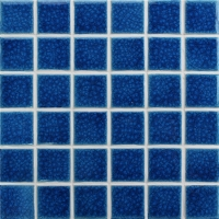Frozen Blue Heavy Crackle BCK652-Pool tiles, Ceramic mosaic tile, Mosaic pool renovations