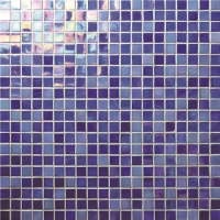 Rainbow Iridescent Blue BGC013-Mosaic tile, Glass mosaic, Glass mosaic pieces, Glass mosaic tile backsplash