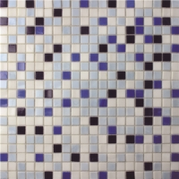 Square Color Mixed Pattern BGC022-Pool tile, Pool mosaic, Glass mosaic, Glass mosaic tile patterns