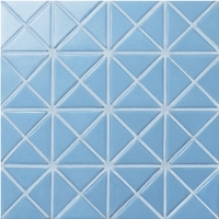 Santorini Pure-Color TRG-SA-P1-Pool Tile, Triangle Tile, Pool Tile for Sale