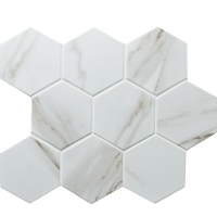 Imitation Stone BCZ909-Ceramic mosaic, Ceramic mosaic tiles for pool, Ceramic tile mosaic kitchen backsplash