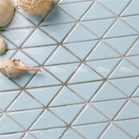 Pure Color TR-SA-P1Z-triangle mosaic, swimming pool supplies, swimming pool supplies wholesale
