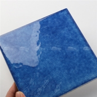 Blossom 6 Inch BCW602E7-swimming pool tiles 6x6, vintage pool tile, mediterranean pool tile