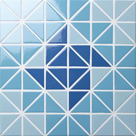 Santorini Wheel Tr Sa Wh Triangle Mosaic Triangle Mosaic