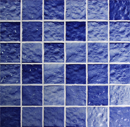 Wave Blue Cko014y Mosaic Tile Ceramic Mosaic Swimming