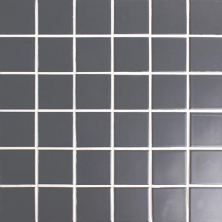 Classic Black Matte Bck301 Mosaic Tiles Ceramic Mosaic
