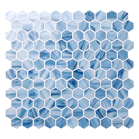 Hex Bgz036 Hexagon Mosaic Hexagon Wall Tile Swimming
