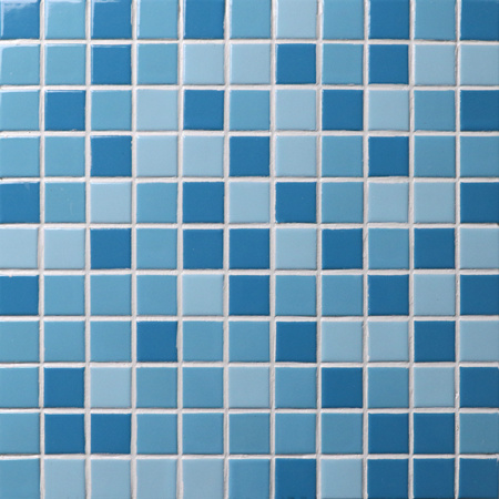 Classic blue mix bci001 mosaic tiles ceramic mosaic for Zwembad tegels