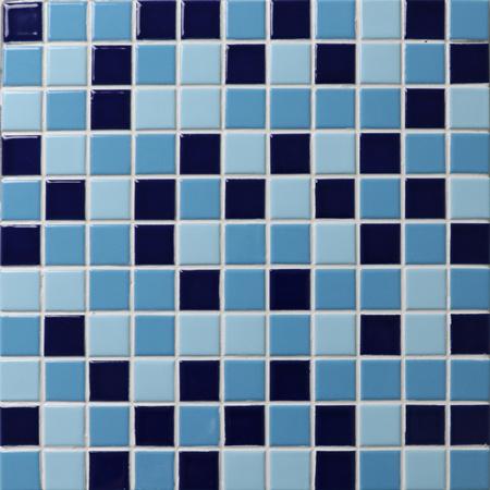 Mix azul cl ssico bci002 azulejos de mosaico azulejo de for Mosaico ceramico exterior