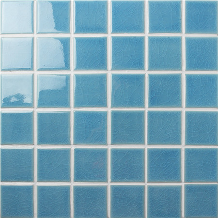 Frozen Blue Ice Crackle Bck607 Mosaic Tile Ceramic Tile