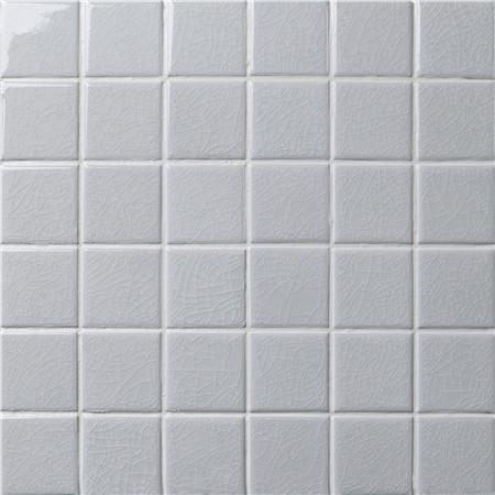 Frozen Grey Crackle BCK501, Mosaic tiles, Ceramic mosaic, Grey ...