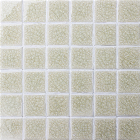 Frozen Beige Heavy Crackle BCK503,Mosaic tiles, Ceramic mosaic, Porcelian mosaic floor tiles, Pool tiles China supplies