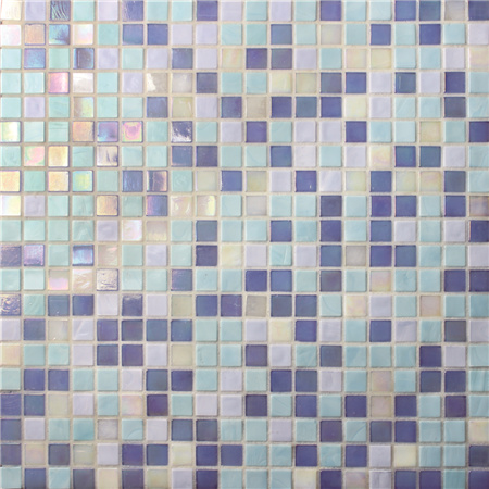 Jade Blue Mix Bgc010 Mosaic Tile Glass Mosaic Glass