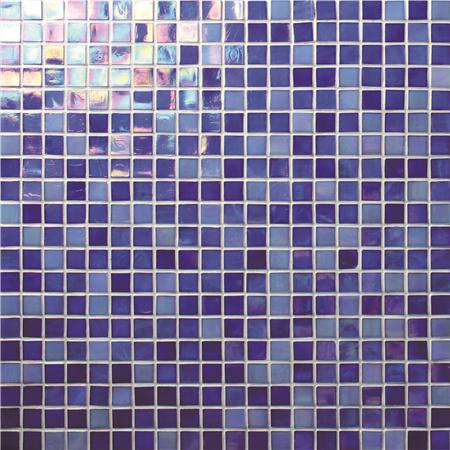 Rainbow Iridescent Blue Bgc013 Mosaic Tile Gl Pieces