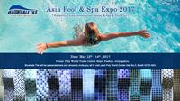 Welcome to Visit Us at Asia Pool & Spa Expo 2017-Swimming Pool, SPA, Sauna