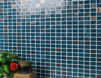 Mosaic Style: Sparkling Glass Mosaic Tiles Make A Luxury Home -Glass Mosaic Tiles, Luxury Glass Mosaic Tiles, Sparkling Mosaic Tiles