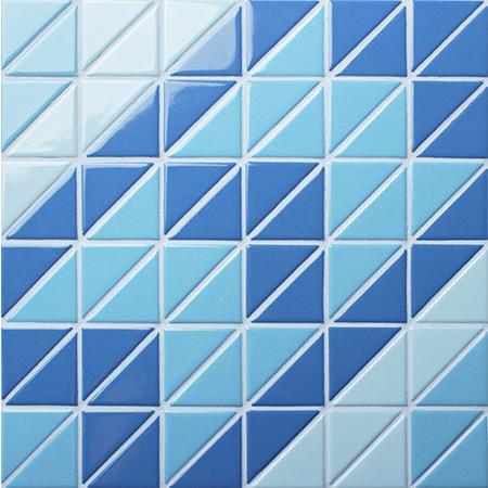 Santorini Windmill Tr Sa Twm Triangle Mosaic Triangle