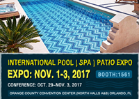 International POOL | SPA | PATIO EXPO 2017-Pool Tiles, Swimming Pool Tiles, Triangle Pool Tiles Design