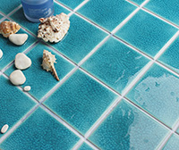 Crackle Glaze Porcelain Mosaic-Perfect Choice For Gunite Pools-swimming pool tile wholesale, pool tile supplier, pool tile manufacturer, crackle glaze porcelain mosaic tiles