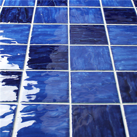 Wave Blue Blend Bcp001 Mosaic Tile Ceramic Mosaic Tiles
