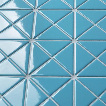 Santorini Pure Color Tr Sa P2 Triangle Tile Triangle