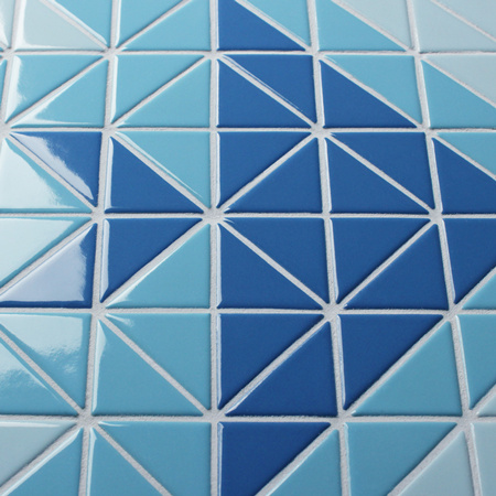 Santorini Fish Tr Sa Fi Triangle Mosaic Triangle Mosaic