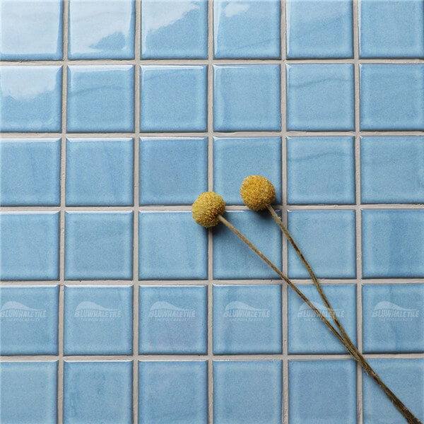 Ink-Jet Light Blue KOA2601,pool tile wholesale prices, porcelain mosaic pool tile, 2x2 pool tile