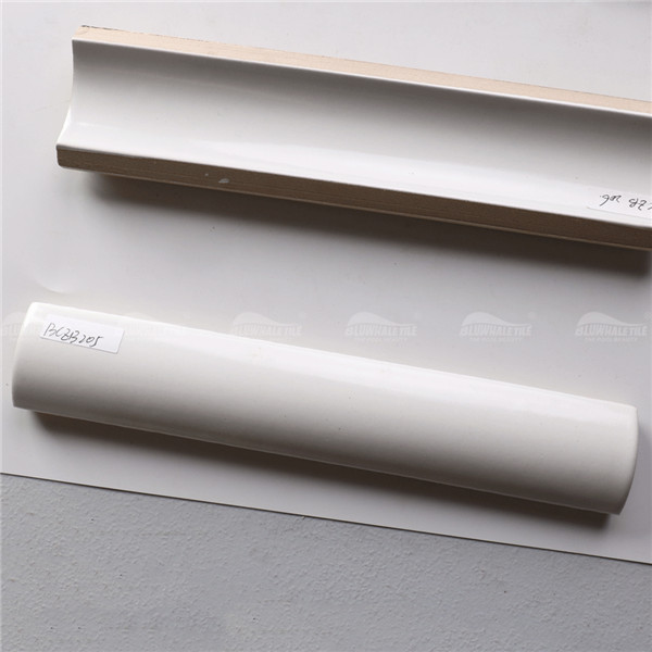 Tile Accessories White BCZB205,Swimming pool edge tiles, Pool corner tile, Swimming pool corner tile