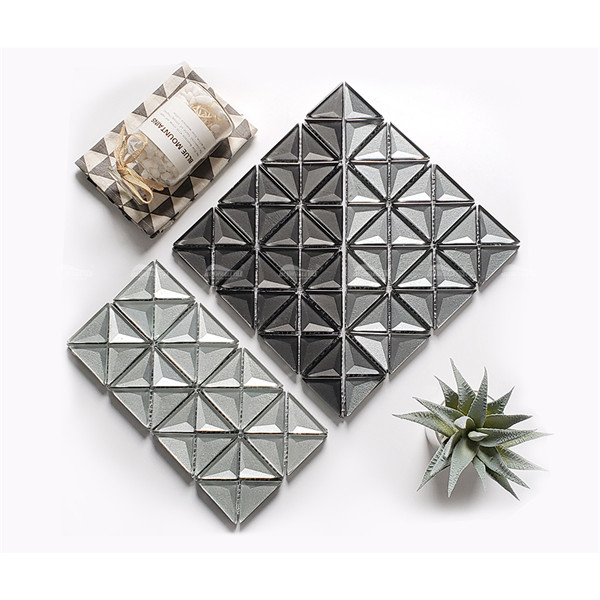 Glass Triangle GZOM7201,triangle tile, triangle wall tiles, glass mosaic supplies