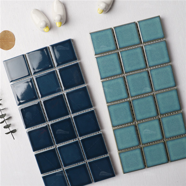 Crystal Glazed KOA2616,2x2 ceramic pool tile, bathroom tile mosaic, porcelain pool tiles manufacturers